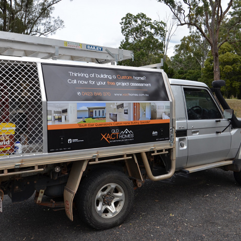 Custom Vehicle Signage