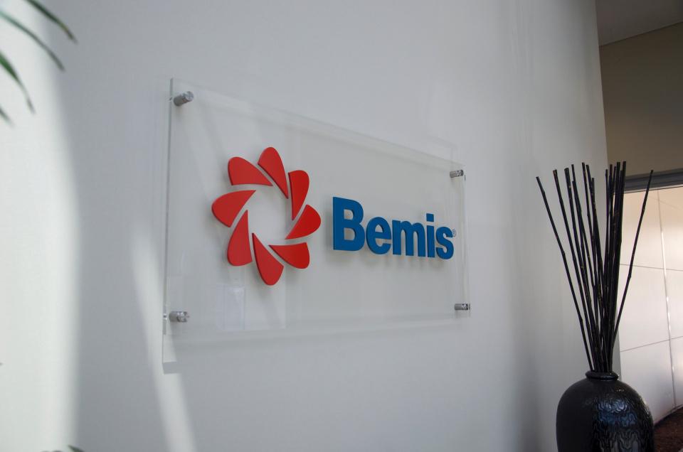 Bemis Reception Sign