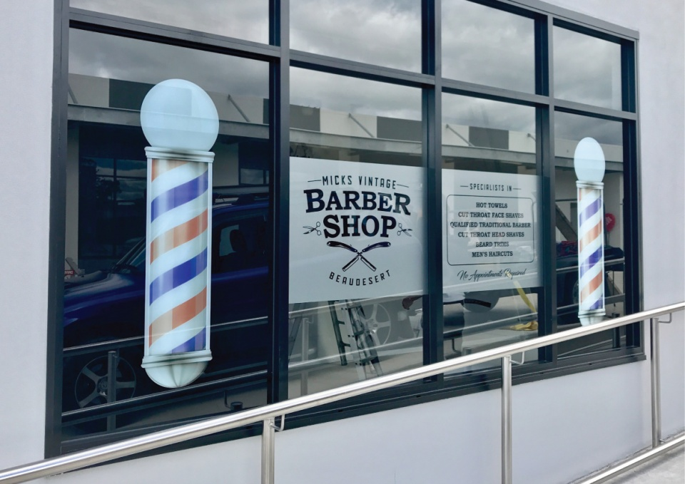 Logo and Branding development for Barber Shop